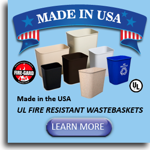 UL Fire Resistant Wastebaskets
