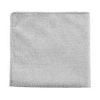 EXEC MICROFIBER CLOTH MULTI-PURPOSE 12 INCH  GRAY