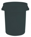 20 GALLON BRUTE®  - UNBRANDED - BLACK