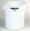 10 GALLON BRUTE® VENTED CONTAINER WITHOUT LID - WHITE