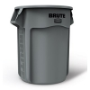 55 GALLON BRUTE® CONTAINER WITHOUT LID - GRAY