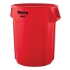 55 GALLON BRUTE® CONTAINER WITHOUT LID - RED