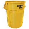 55 GALLON BRUTE® CONTAINER WITHOUT LID - YELLOW