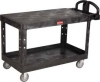 HEAVY DUTY 2-SHELF UTILITY CART - LARGE