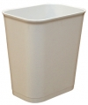 14 QUART UL WASTEBASKET - GRAY