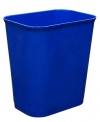 14 QUART UL WASTEBASKET - BLUE
