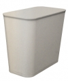 27 QUART UL WASTEBASKET - GRAY