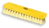 DECK BRUSH - PLASTIC BLOCK - POLYPROPYLENE FILL