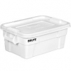 14 GALLON BRUTE® TOTE WITH LID - WHITE
