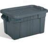 20 GALLON BRUTE® TOTE WITH LID - GRAY