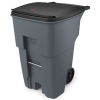 95 GALLON BRUTE® ROLLOUT CONTAINER - GRAY