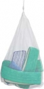 LAUNDRY NET - SYNTHETIC MESH BAG WITH LOCKING CLOSURE
